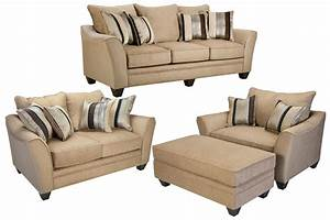 suede chenille sofa loveseat chair ottoman at gardner white With chenille sectional sofa with ottoman