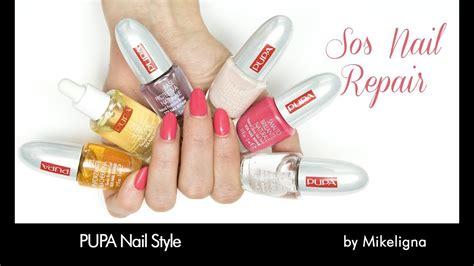 sos nail repair  mikeligna nail style youtube
