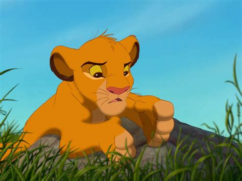 lion king cartoon adventures   young lion simba