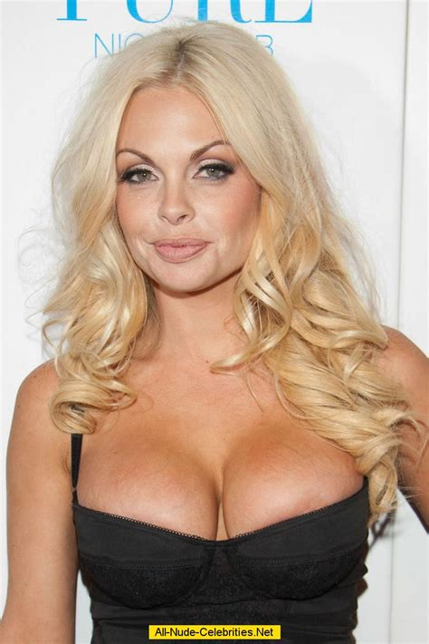 Busty Jesse Jane shows deep sexy cleavage
