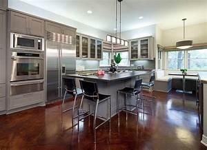 Open, Contemporary, Kitchen, Design, Ideas