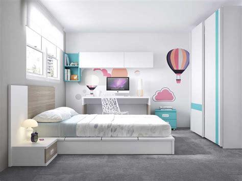 habitaciones juveniles en gris blanco ideas modelos ikea