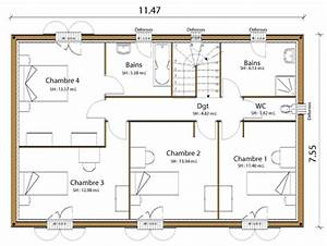 plan maison With plan maison avec appartement