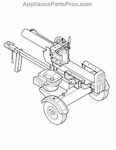 Mtd Log Splitter Parts Diagram