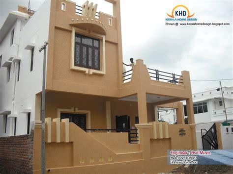 north indian home design elevation kerala home design and floor plans