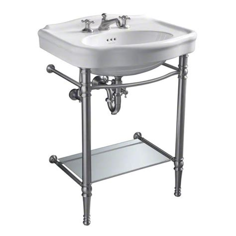 chrome legs for wall mount sink 53 best images about bathroom vanities on pinterest