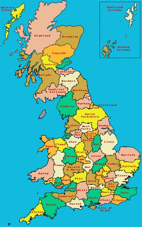 england map  counties travelsfinderscom