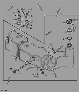 Fuel Tank - Tractor John Deere 5055e - Tractor