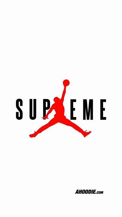 Supreme Wallpapers Jordan Iphone Ahoodie Backgrounds Dope