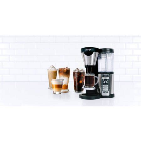 It comes in one color choice, black, and steel. Ninja Coffee Bar Machine Brewer Maker with 43 Oz Glass ...