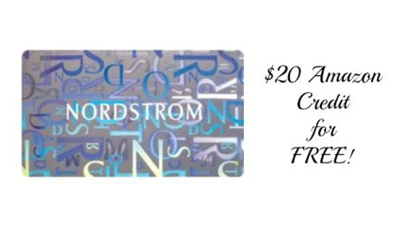 Current members and cardmembers are automatically part of the nordy club. $100 Nordstrom Gift Card + FREE $20 Amazon Credit ...