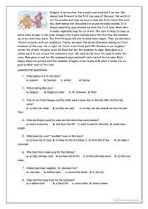67 free esl snow worksheets