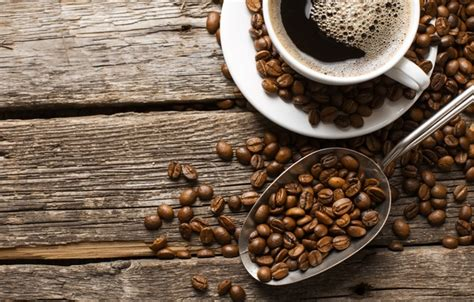 Wallpaper cup, liquid, coffee, coffee beans images for ...