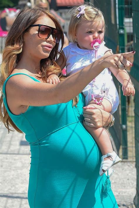 Amy Childs shares RARE photo of baby son months after ...