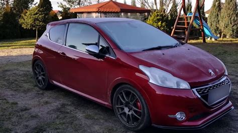 peugeot 208 gti tuning 208 gti tuning 1 4 mile stage 3
