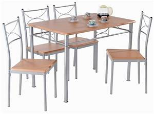 Ensemble table de cuisine et 4 chaises london i ensemble for Ensemble table chaises cuisine