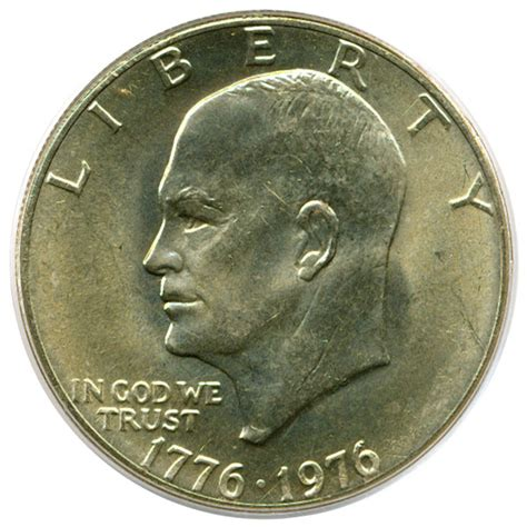 1976 silver dollar 1976 eisenhower dollar 1 ty 2 pcgs ms65 buy sell certified rare coins coin values david