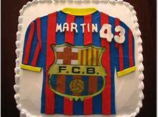 Pastel de Camisa FCB Barcelona YouTube