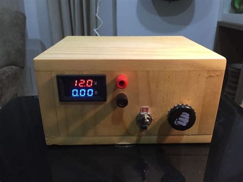 Variable Bench Power Supply Electronics Projects Diy