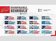 Buffalo Bills 2018 schedule released – FingerLakes1com