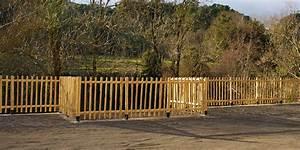 Cloture Jardin Bois : cloture jardin ~ Premium-room.com Idées de Décoration
