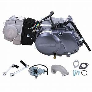 125cc Cdi Dirt Bike Engine Motor Carb 124cm3 For Honda