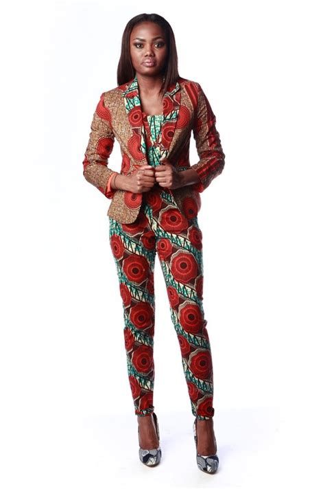 african print pant suits designs 2018