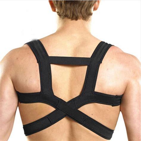 DHL Hot Black Clavicle Support Back Shoulder Brace ...