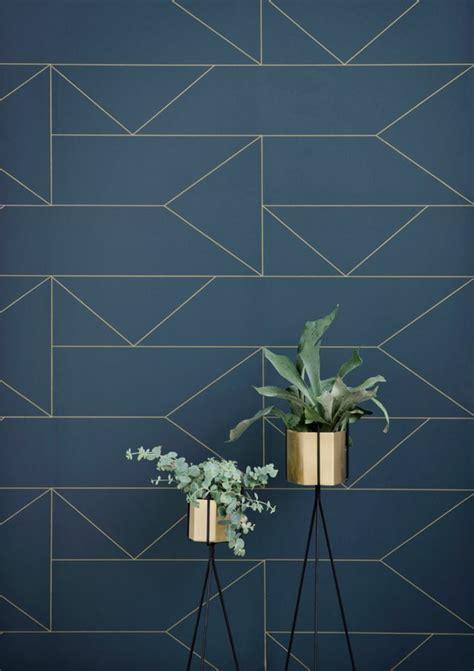 creer sa cuisine ikea le papier peint géométrique en 50 photos avec idéеs