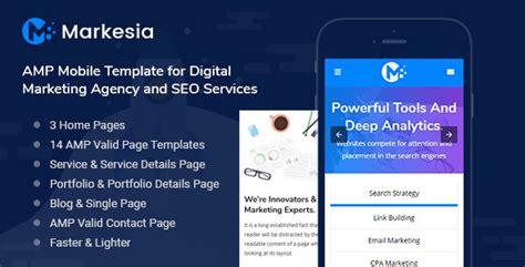 digital agency seo marketing html template nulled markesia mobile template for seo digital marketing