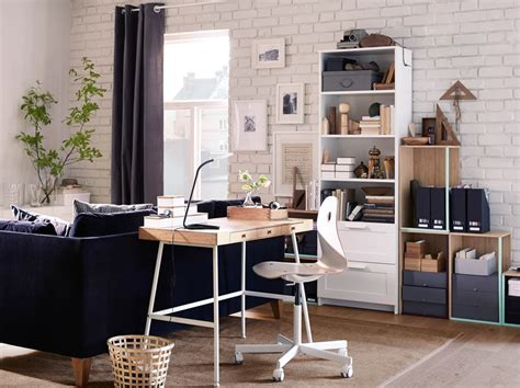 Home Office With Ikea Home Office Furniture Ideas Ikea
