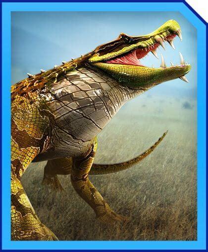 kaprosuchus jurassic world alive wiki gamepress