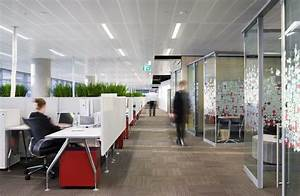 Fujitsu head office melbourne docklands victoria for Office interiors melbourne