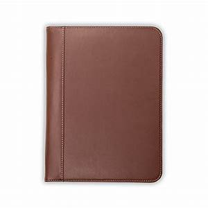 samsill contrast stitch leather padfolio lightweight With leather resume portfolio