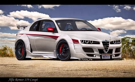Alfa Romeo Tuning 159 Johnywheelscom