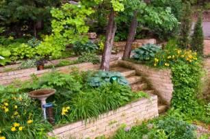 Multi Level Kitchen Island 27 Backyard Retaining Wall Ideas And Terraced Gardens