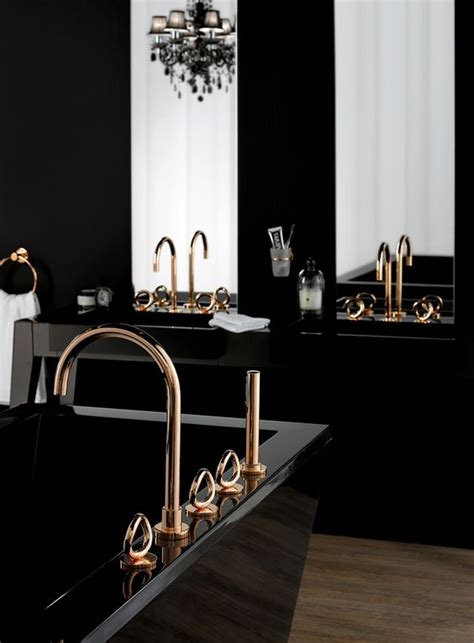 salle de bain noir et or des salles de bain noir et or floriane lemari 233