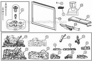 Napoleon Xir3n Parts List And Diagram   Ereplacementparts Com
