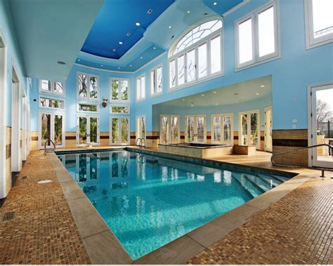 indoor swimming pools  houzzcom homes   rich