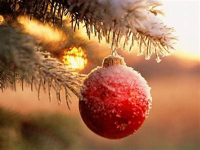 Christmas Ornaments Wallpapers Snow Merry Ball Xmas