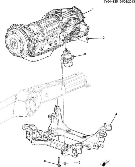 Chevrolet Corvette Transmission Mount New Oem