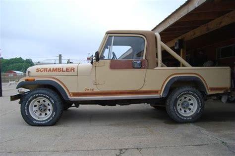 jeep scrambler 1982 sell used 1982 jeep scrambler sl sport utility 2 door 4 2l