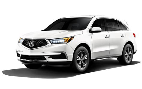 Acura Mdx Per Gallon by 2020 Acura Mdx Chicagoland Acura Dealers Third Row