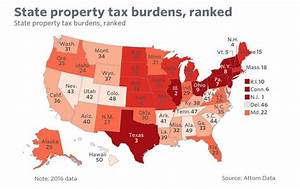 US Property Tax Comparison by State | Centinel2012