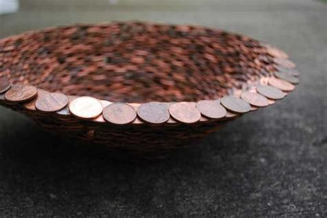 penny art images  pinterest coin crafts