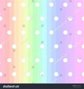 Cute Pastel Colorful Rainbow Spectrum Strip Stock Vector ...