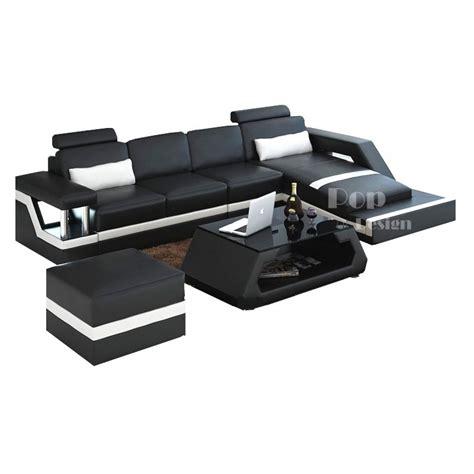 canape d angle luxe canapé canapé d angle luxe ambre réversible noir et gris