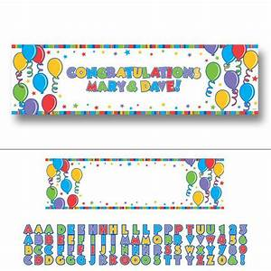 Buchstaben Zum Aufkleben : personalisierbares banner mit buchstaben zum aufkleben 165 ~ Watch28wear.com Haus und Dekorationen
