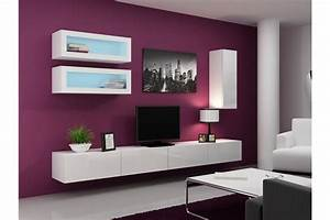 Meuble Tv Suspendu But : meuble tv design suspendu bino chloe design ~ Teatrodelosmanantiales.com Idées de Décoration