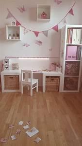 Bureau Chambre Fille : bureaus and petite fille on pinterest ~ Teatrodelosmanantiales.com Idées de Décoration